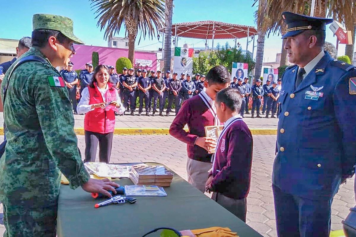 """Realiza CESESP segunda etapa de la campaña """"CANJE DE ARMAS DE FUEGO2019"""""""