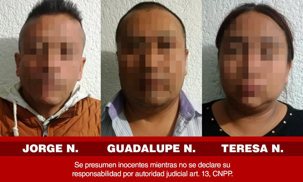 RESCATAN PGJE, FGE PUEBLA, FBI EN MÉXICO Y POLICÍA DE PAPALOTLA A CUATRO VÍCTIMAS DESECUESTRO