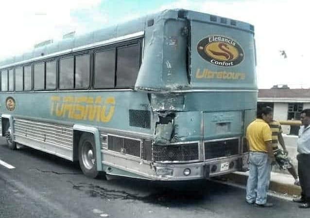 Deja seis heridos choque en laPuebla-Tlaxcala