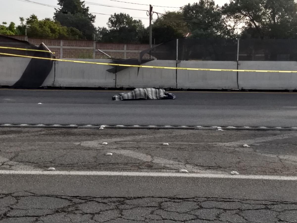 Fallece hombre por atropellamiento en laMéxico-Veracruz