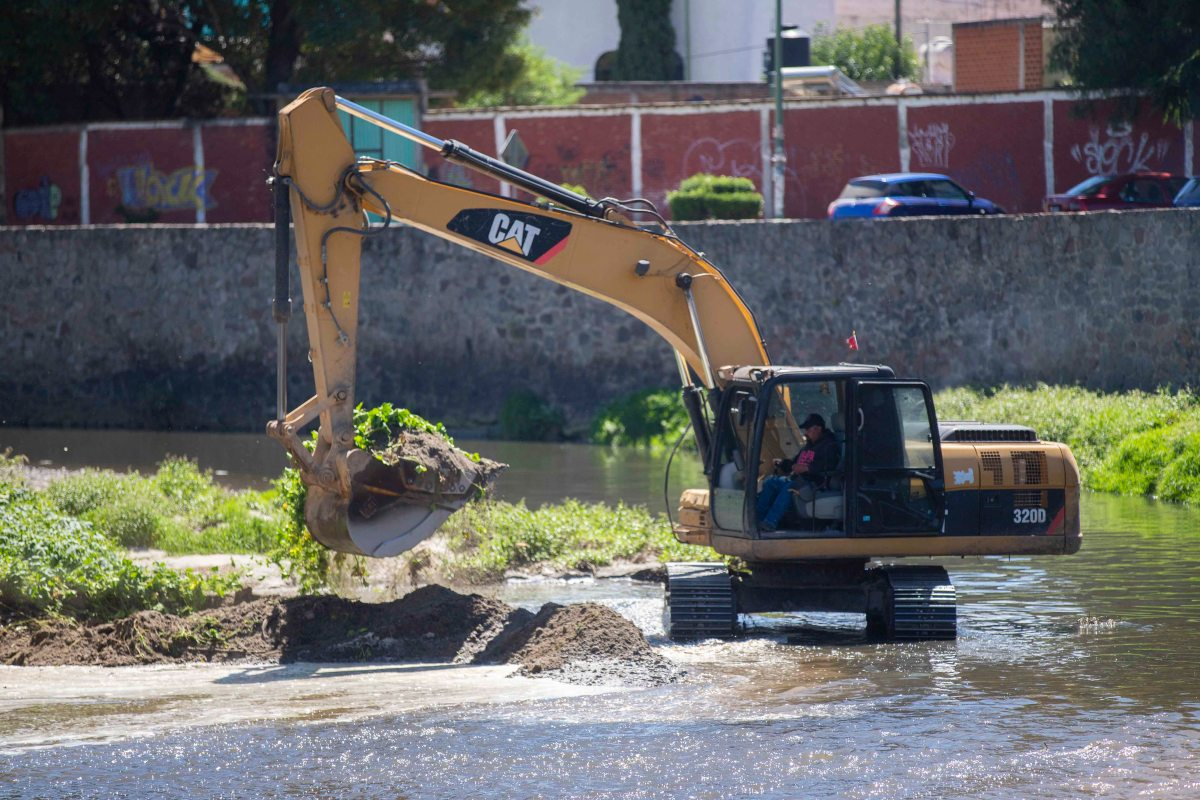 Inicia secoduvi trabajos de desazolve del RíoZahuapan