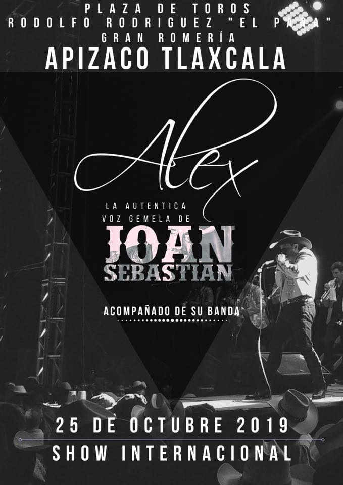 Gobierno de Apizaco anuncia gran concierto para última romeríataurina