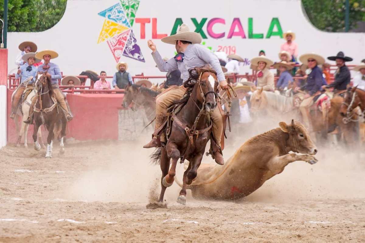 """Arranca torneo charro """"leyenda de la charrería"""" en Tlaxcala la feria2019"""