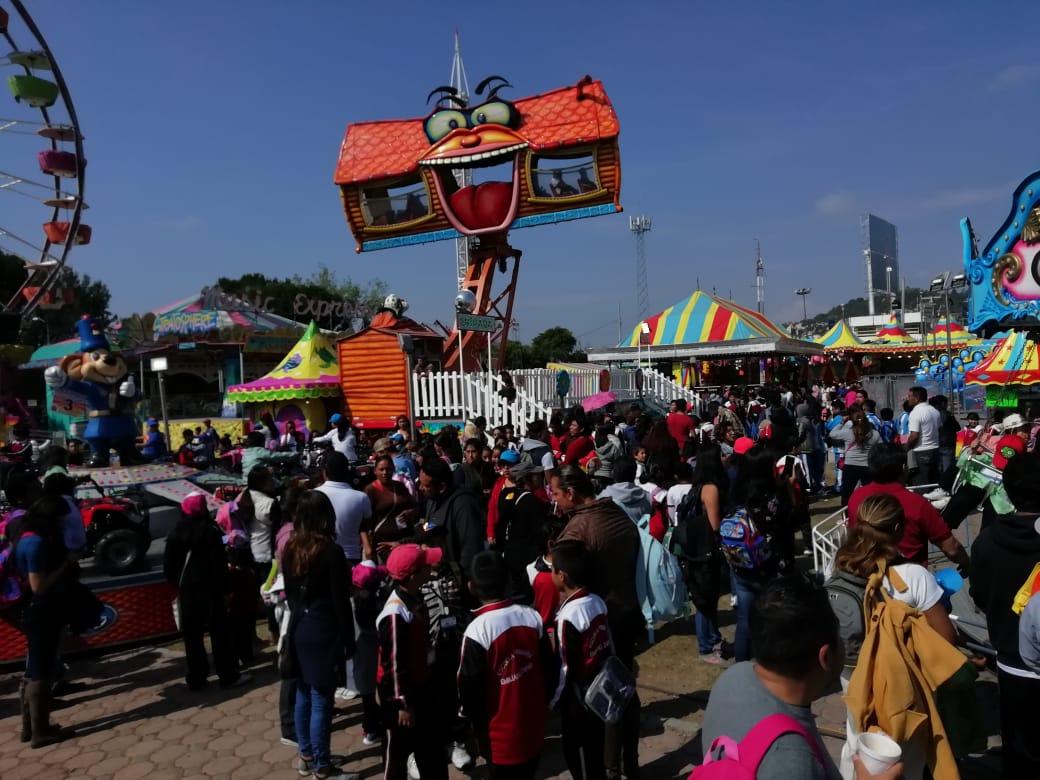 """Disfrutan niñas y niños de """"Tlaxcala Feria2019′"""