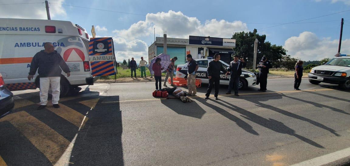 Fallece hombre por atropellamiento en la capital delEstado