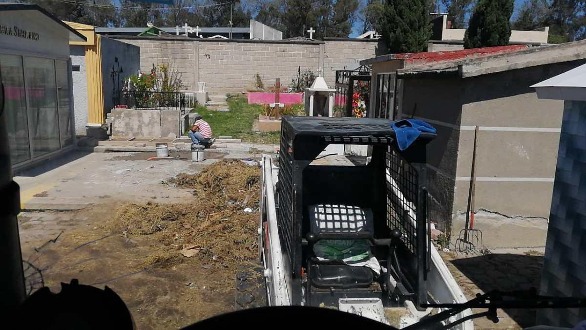 Se instalará caja móvil en el panteón de Apizaco, habrádescuento