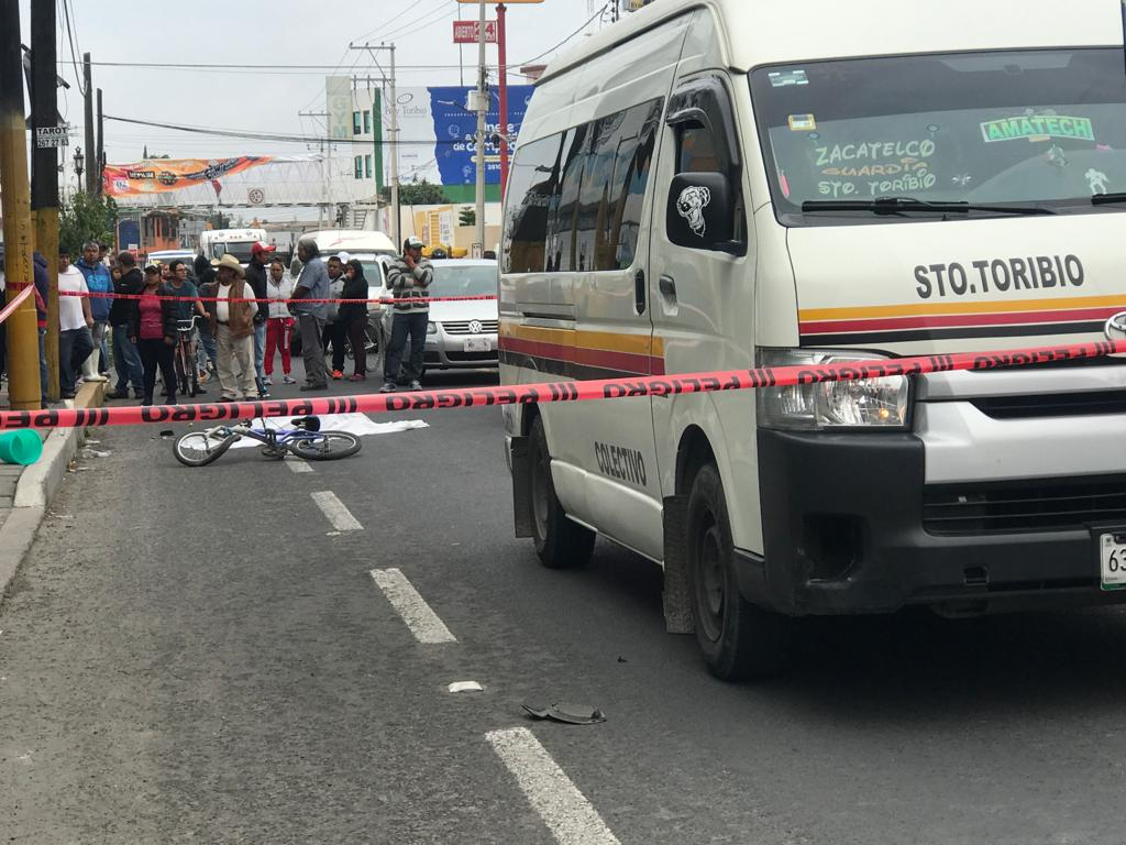 Muere mujer por atropellamiento enXicohtzinco