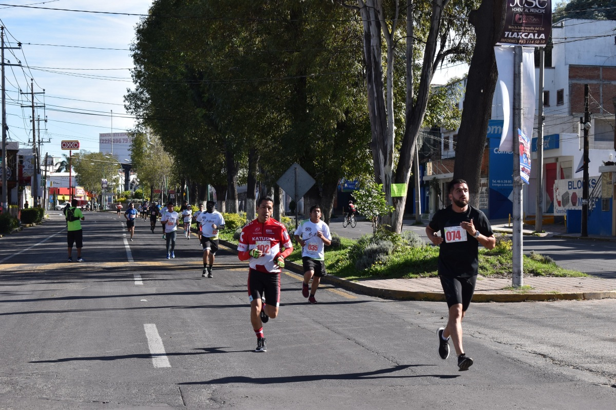 Realizará IDET carrera de 8 kilómetros de Tlaxcala Feria2019