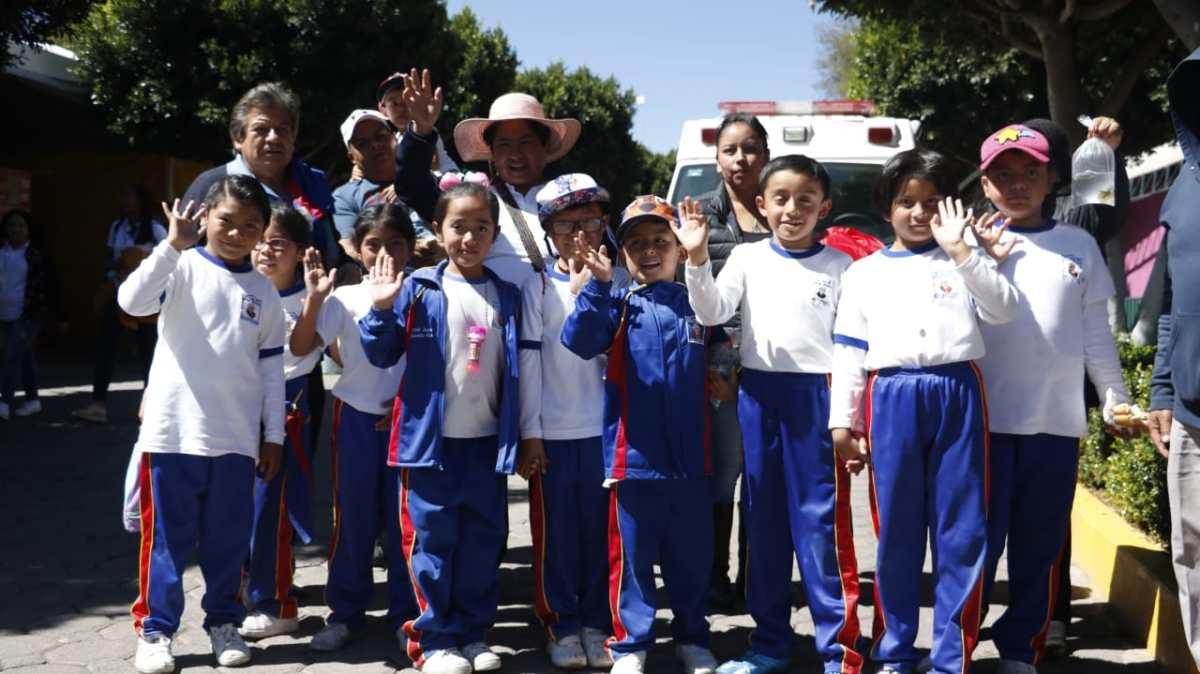 """Disfrutan estudiantes de escuelas públicas de """"Tlaxcala Feria2019"""""""