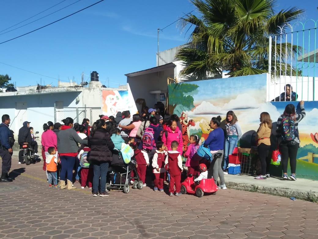 Amagan con cerrar preescolar enTetlanohcan