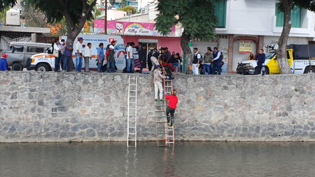 Otra vez, rescatan a hombre delZahuapan