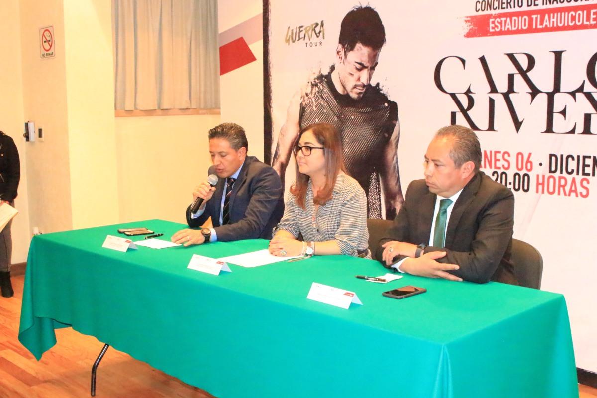 Dará Carlos Rivera concierto gratuito enTlaxcala