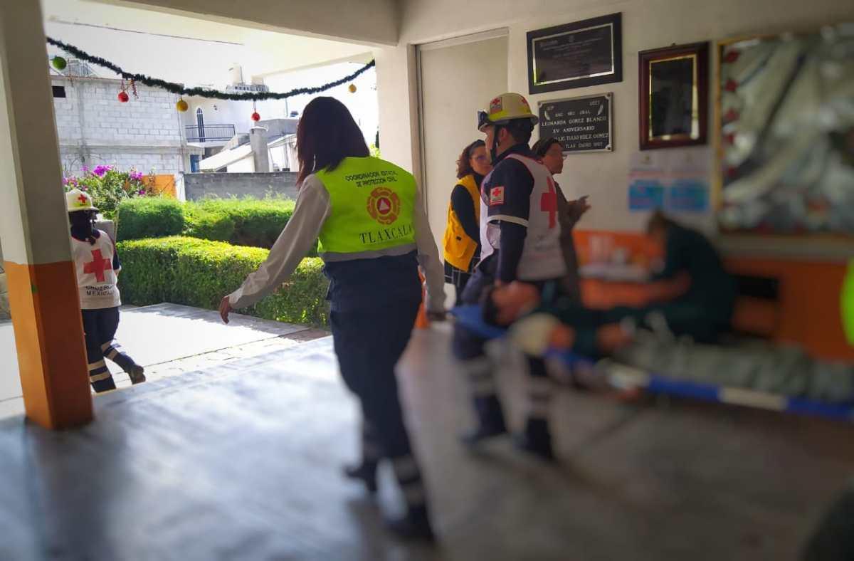 Deja 41 intoxicados festejo en Secundaria deTotolac