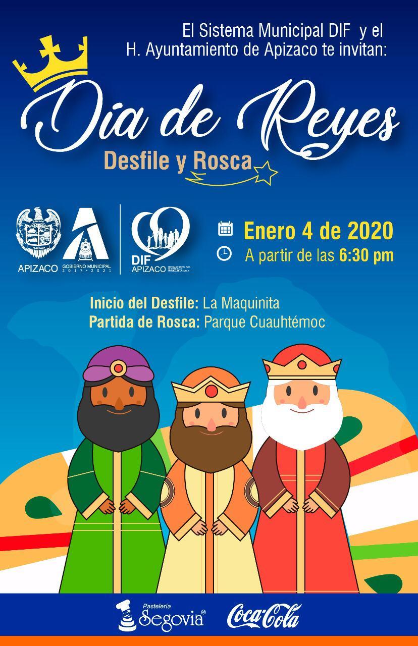 No te pierdas el Desfile de Día de Reyes enApizaco