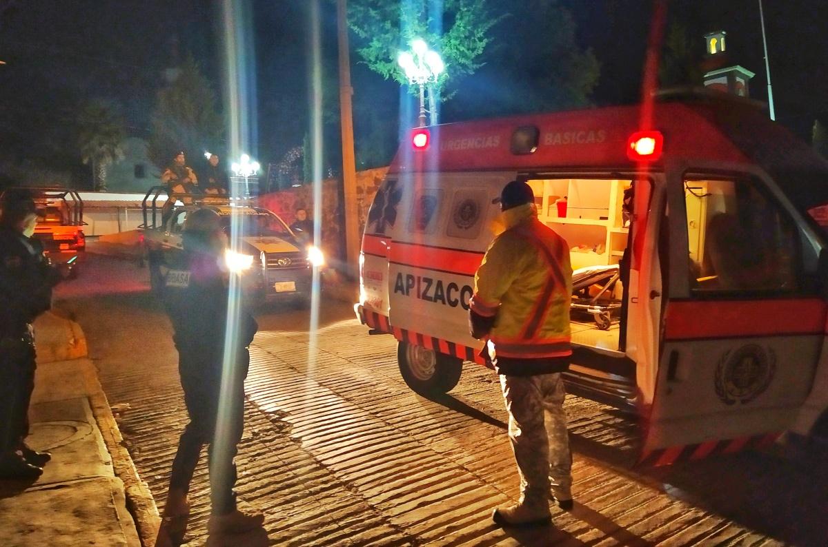 Moviliza a autoridades hecho violento enTecopilco