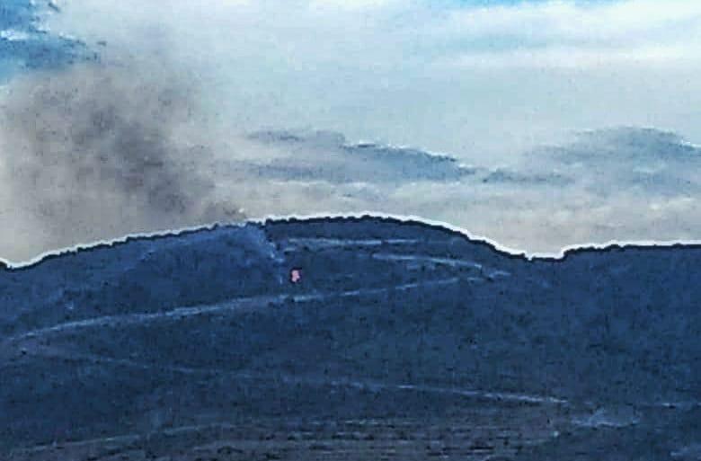 En alerta autoridades por incendioforestal