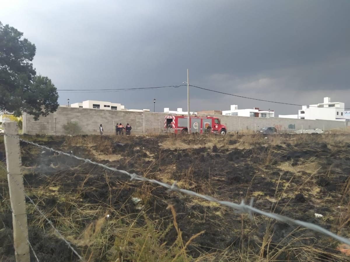 Sofocan incendio enApizaco