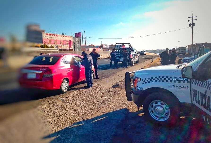 Recupera SSC en la México-Veracruz vehículorobado