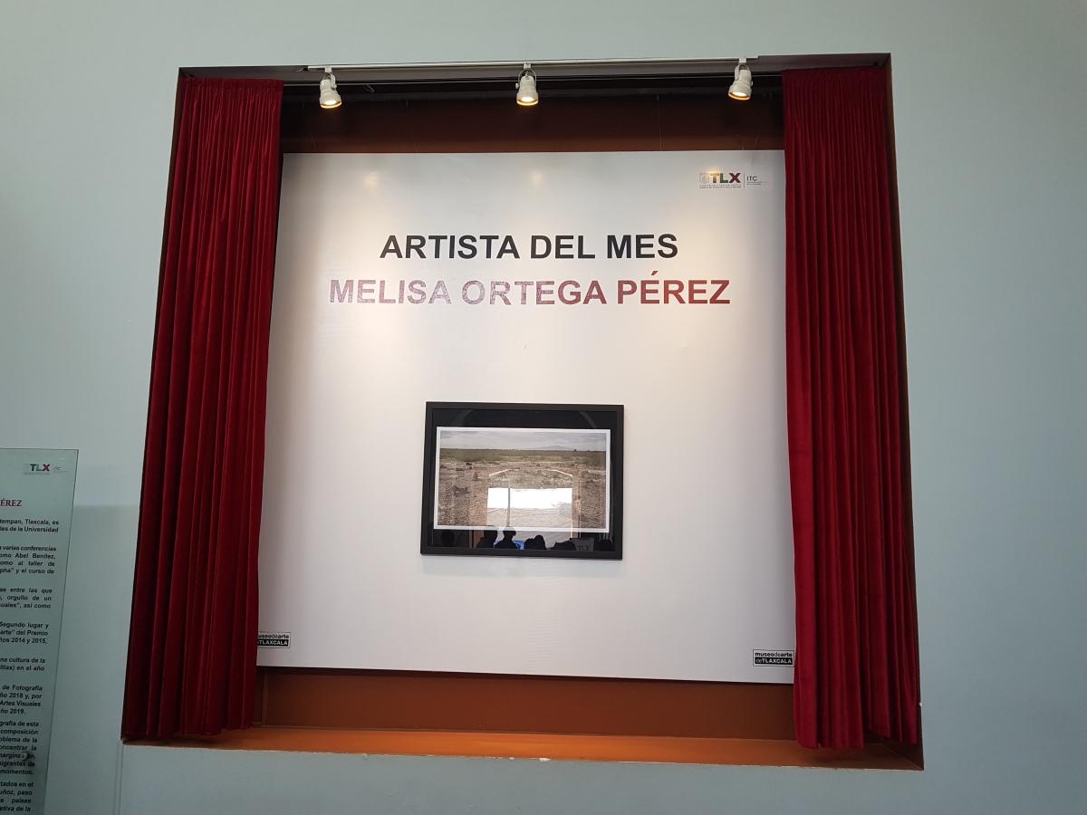 Nombran a Melisa Ortega la Artista del Mes en elMAT