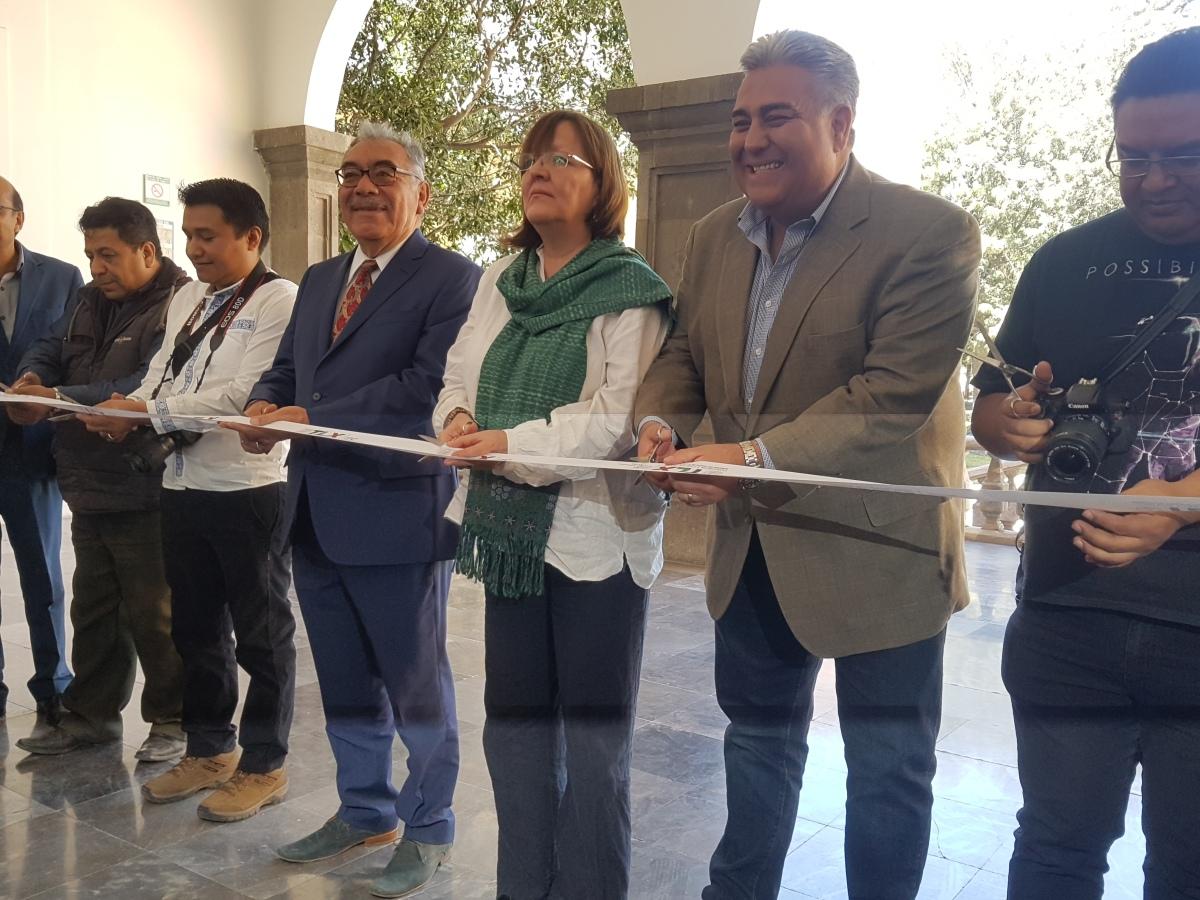 """Inauguran exposición fotográfica """"Fiesta de un Pueblo. El Carnaval deTlaxcala"""""""