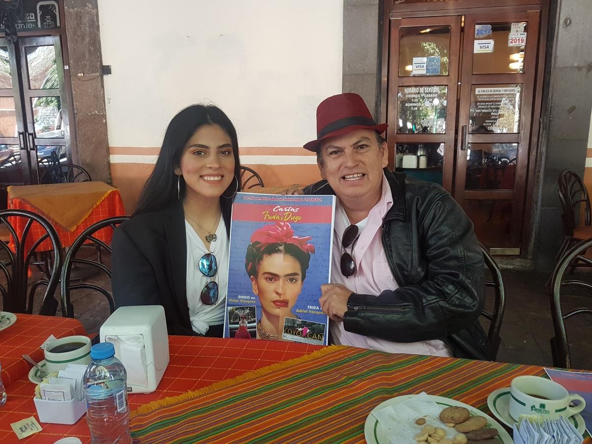 """Presentarán """"Las cartas de Frida y Diego"""" enTlaxcala"""