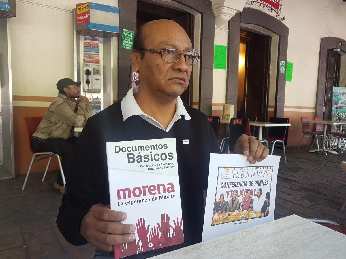 Molesta a morenistas tlaxcaltecas alianza entre Joel Molina y RenéBejarano