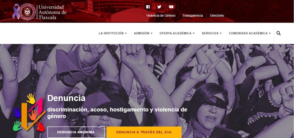 Implementa UATx ventanilla virtual para denuncia de violencia degénero