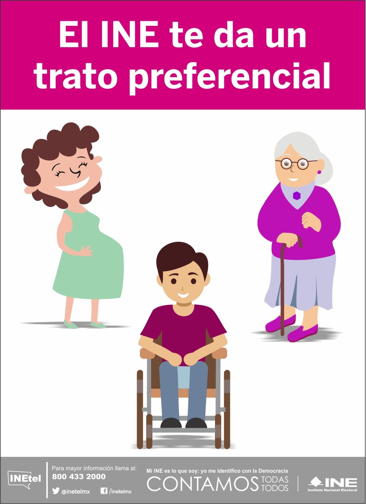 PRIORIZA INE TLAXCALA ATENCIÓN A GRUPOS VULNERABLES EN EL TRÁMITE DE LACPV