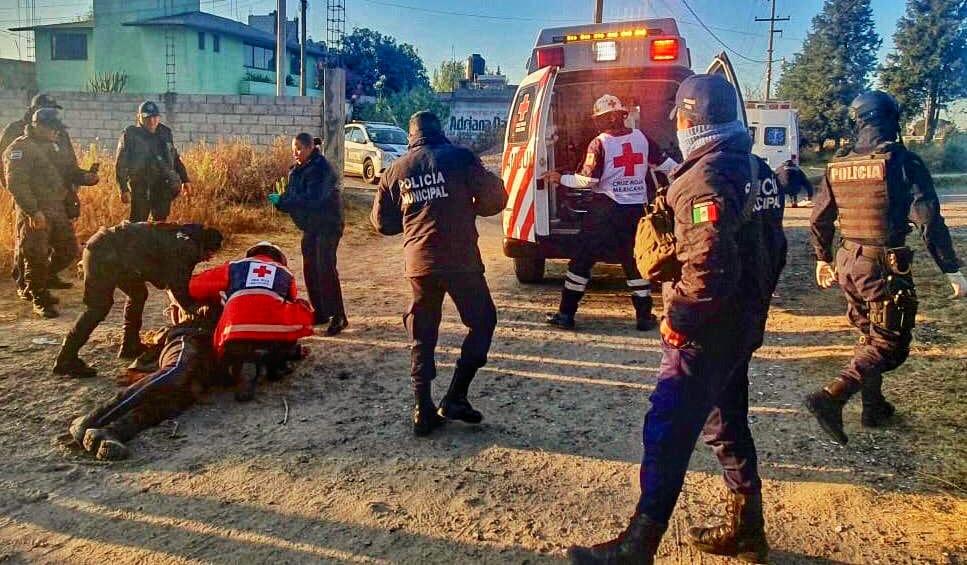 Sufre agresion policía deTlaltelulco
