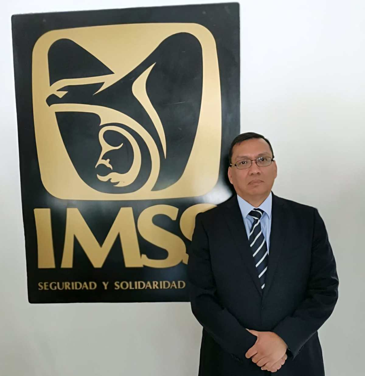 JOSÉ LUIS ARANZA AGUILAR TOMÓ POSESIÓN COMO REPRESENTANTE DEL IMSS ENTLAXCALA