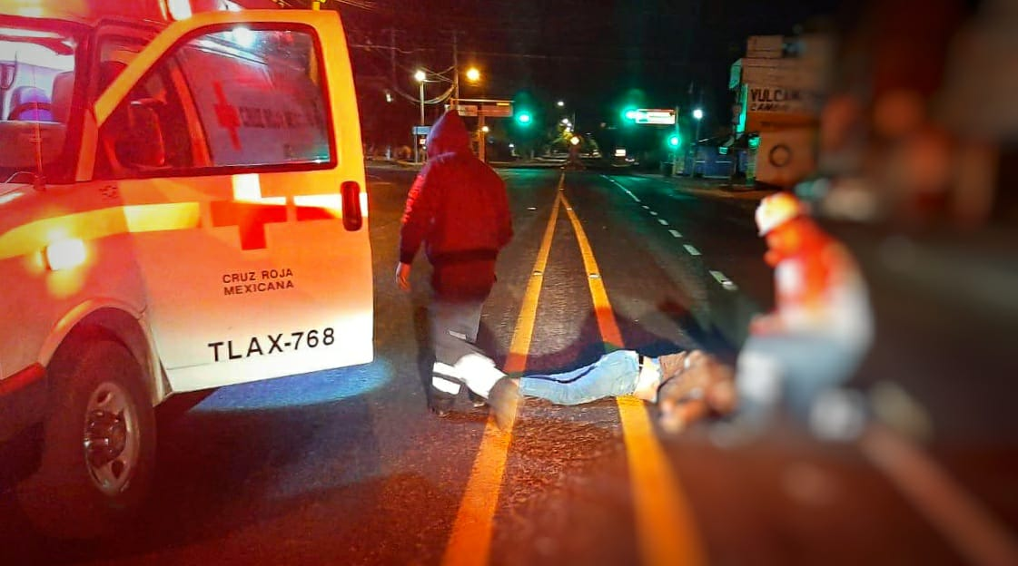 Muere por atropellamiento hombre en laTlaxcala-Puebla