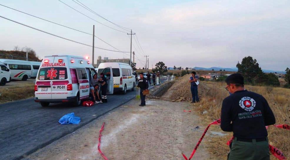 Muere por atropellamiento un menor en SantaCruz