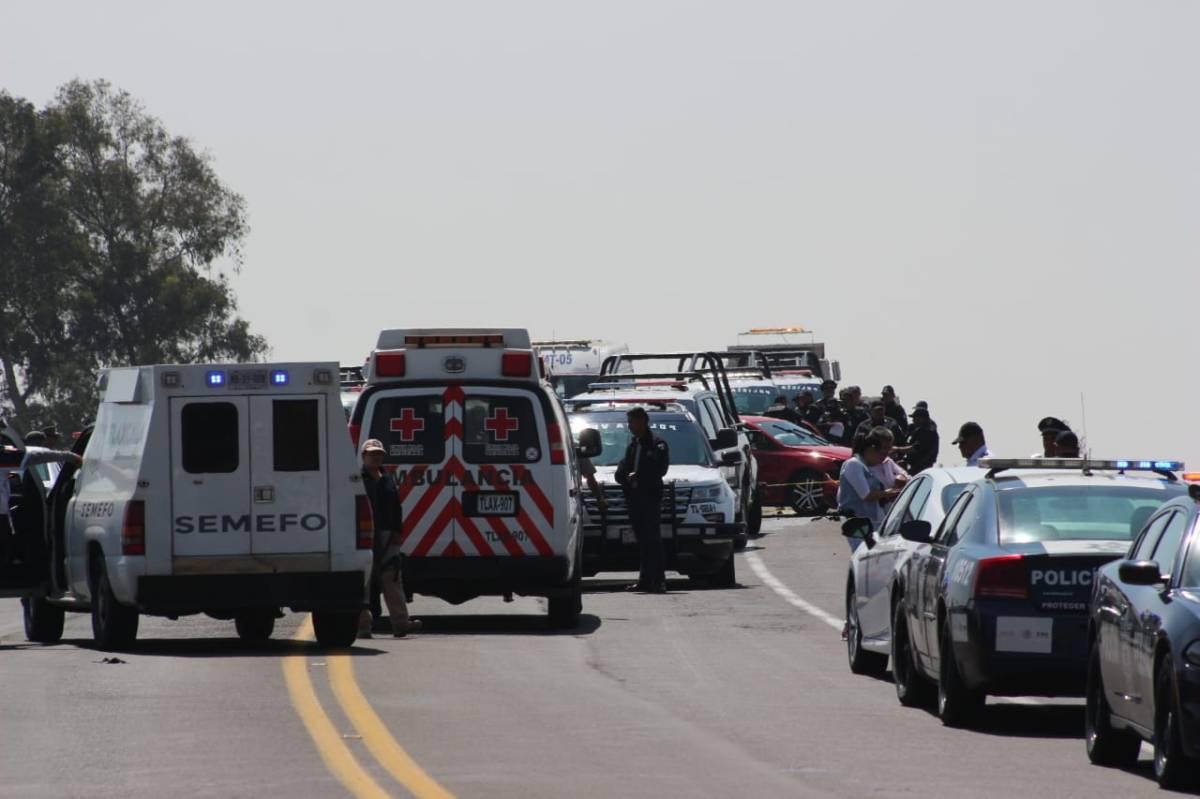 Abaten a sospechoso en la rápidaPuebla-Tlaxcala