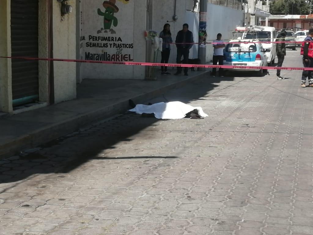 Muere trabajador de la construcción enXaloztoc