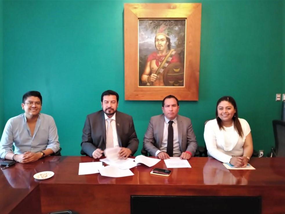 DICTA CONGRESO DE TLAXCALA AUTO DE RADICACIÓN DE JUICIO POLÍTICO CONTRA ALCALDE DEHUAMANTLA