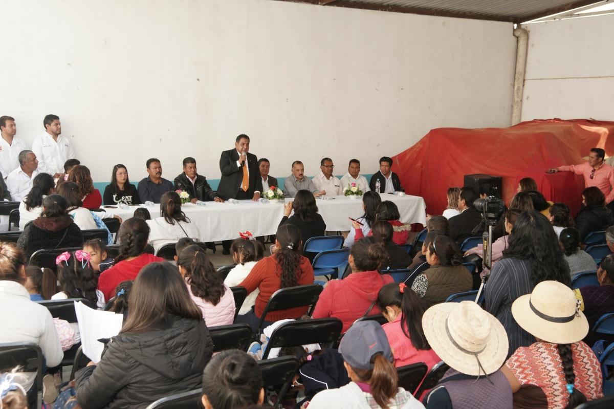Apertura UATx la 21 Casa de Autorrealización en San VicenteXiloxochitla