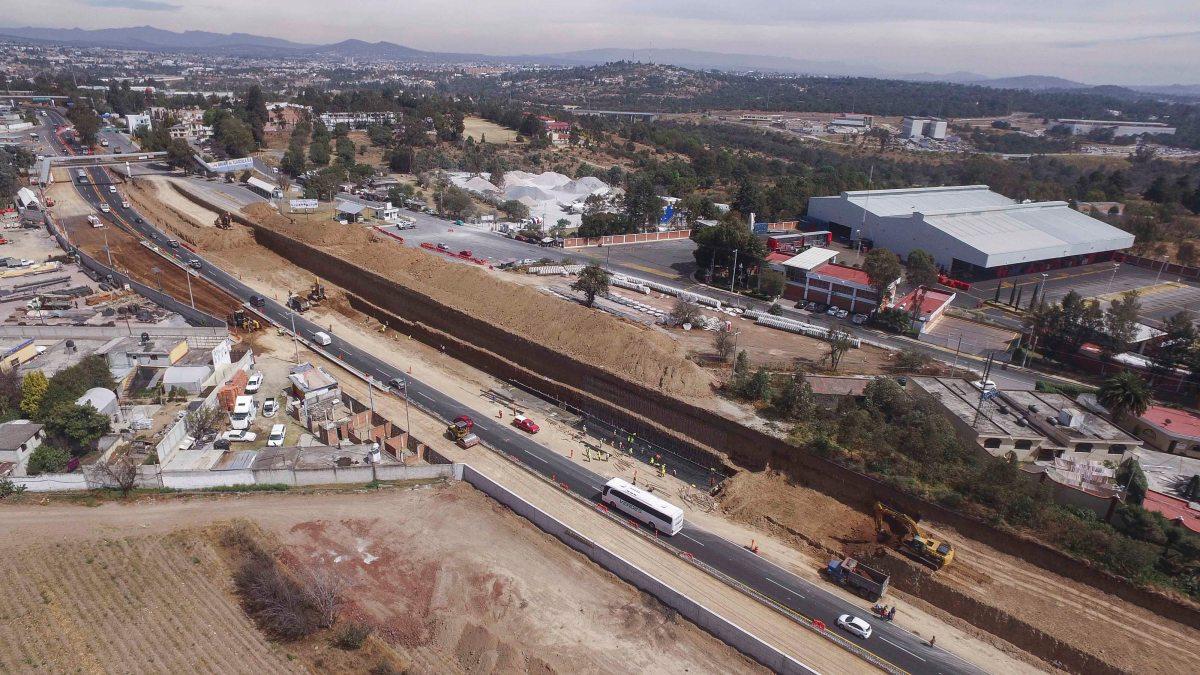 Anuncia SECODUVI cierre de carretera Tlaxcala-Apizaco para colocar trabes enAtlihuetzia