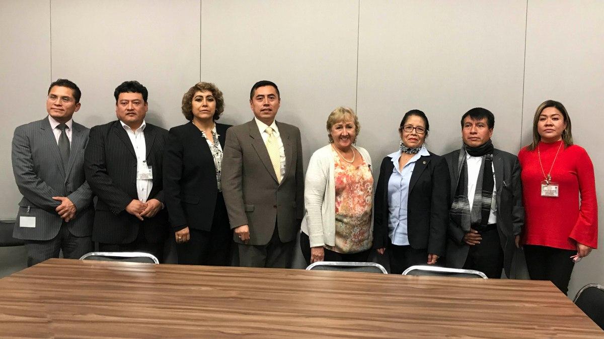 Participa FECC en el primer acercamiento con Rosa María CruzLesbros