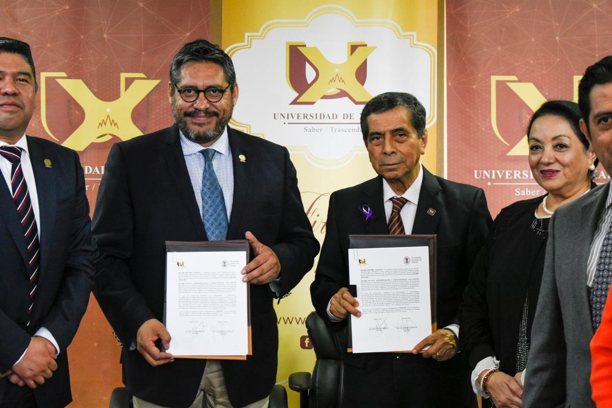 Signa convenio la UATx con la Universidad deXalapa