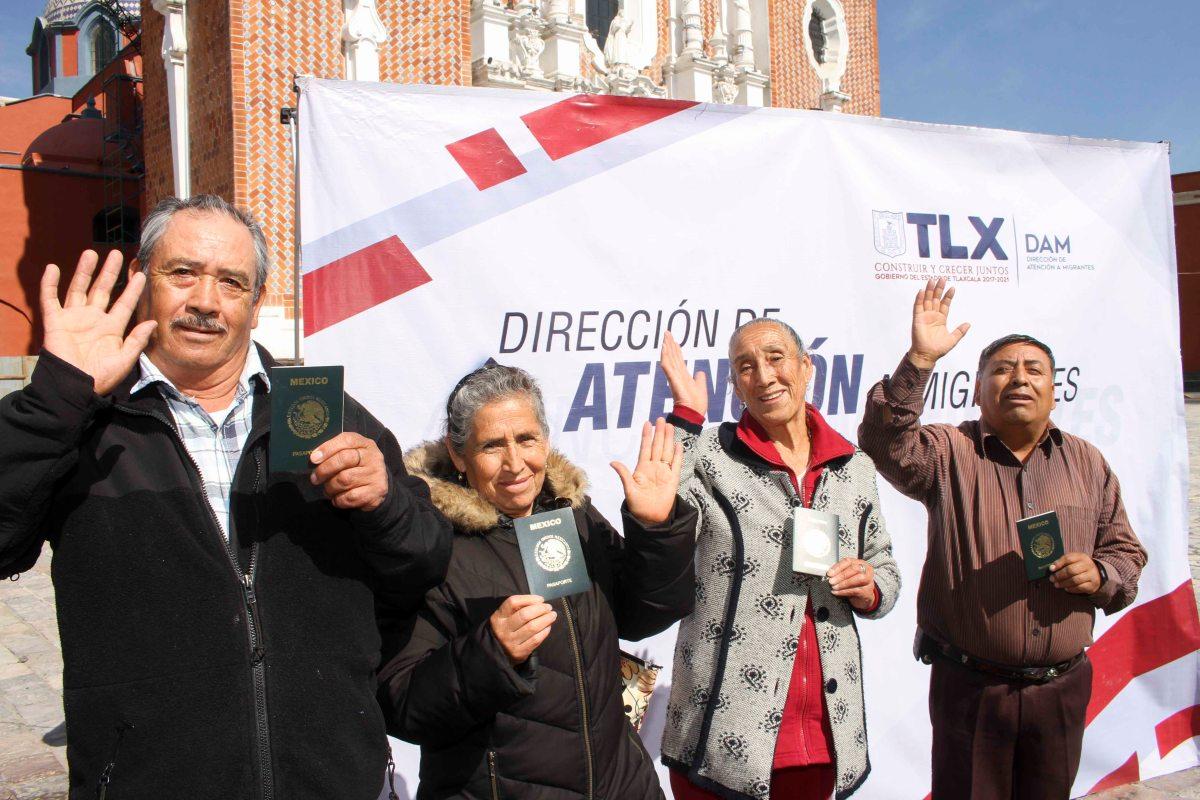 Brinda DAM acompañamiento a 40 adultos mayores para tramitar visaamericana