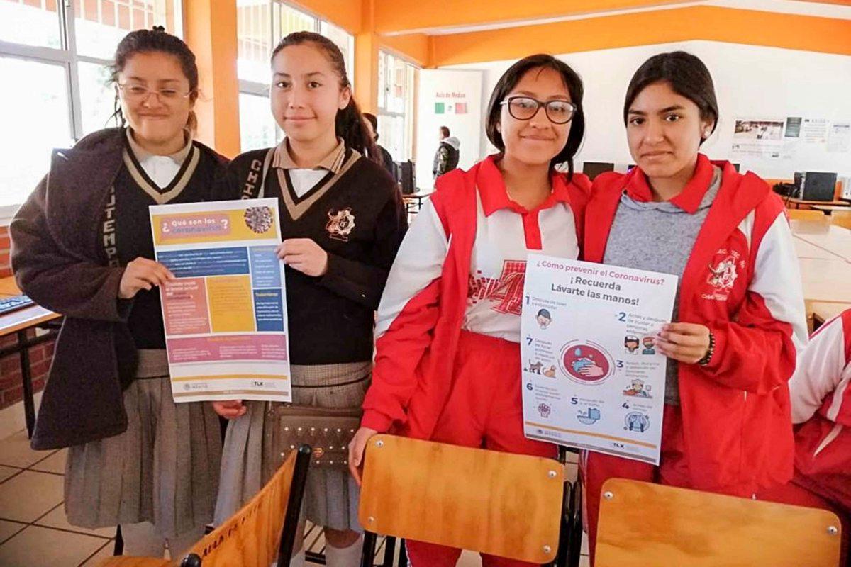 Capacita SESA  instituciones educativas sobre coronavirusCOVID-19