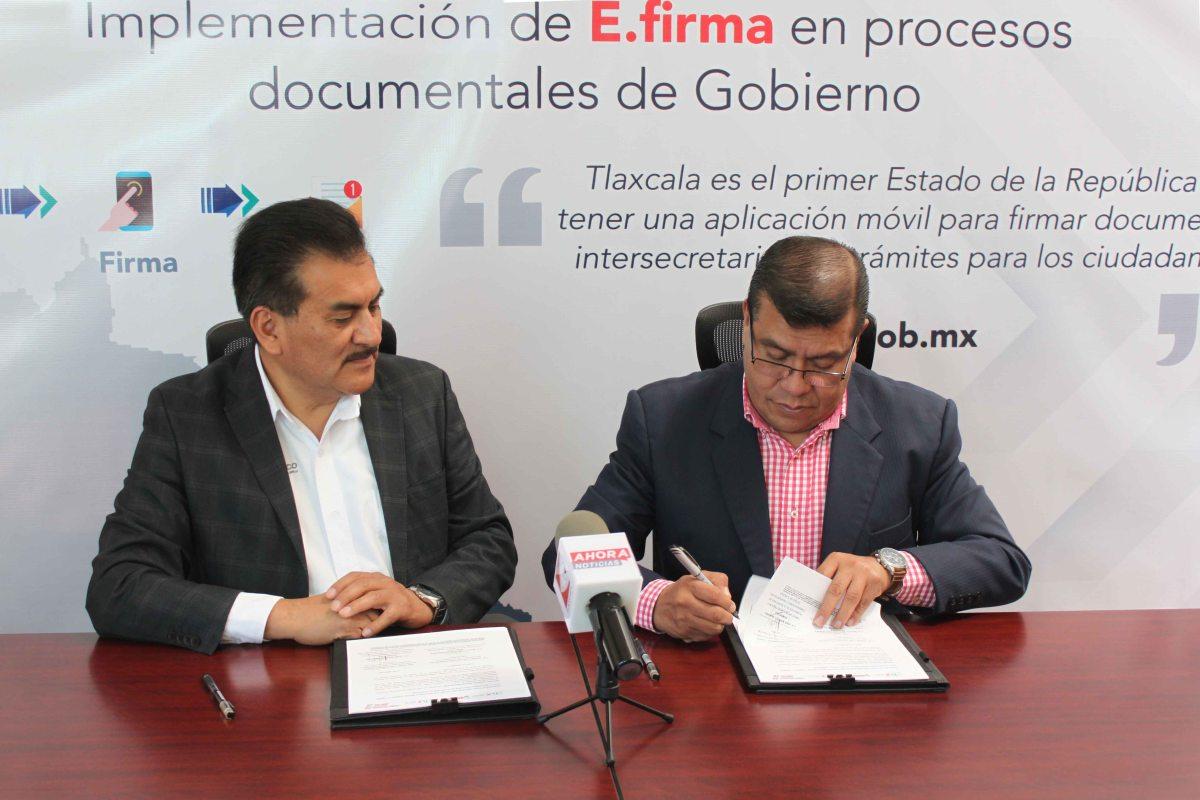 SIGNAN CONVENIO SEDECO Y SECTE PARA AGILIZAR TRÁMITES CON FIRMAELECTRÓNICA
