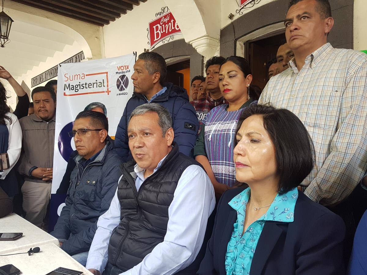 Se muestra seguro de ganar la dirigencia CutbertoChávez