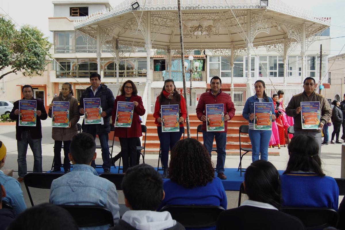 Presentan en Calpulalpan Convocatoria Para Jóvenes Talentos en Arte yCultura
