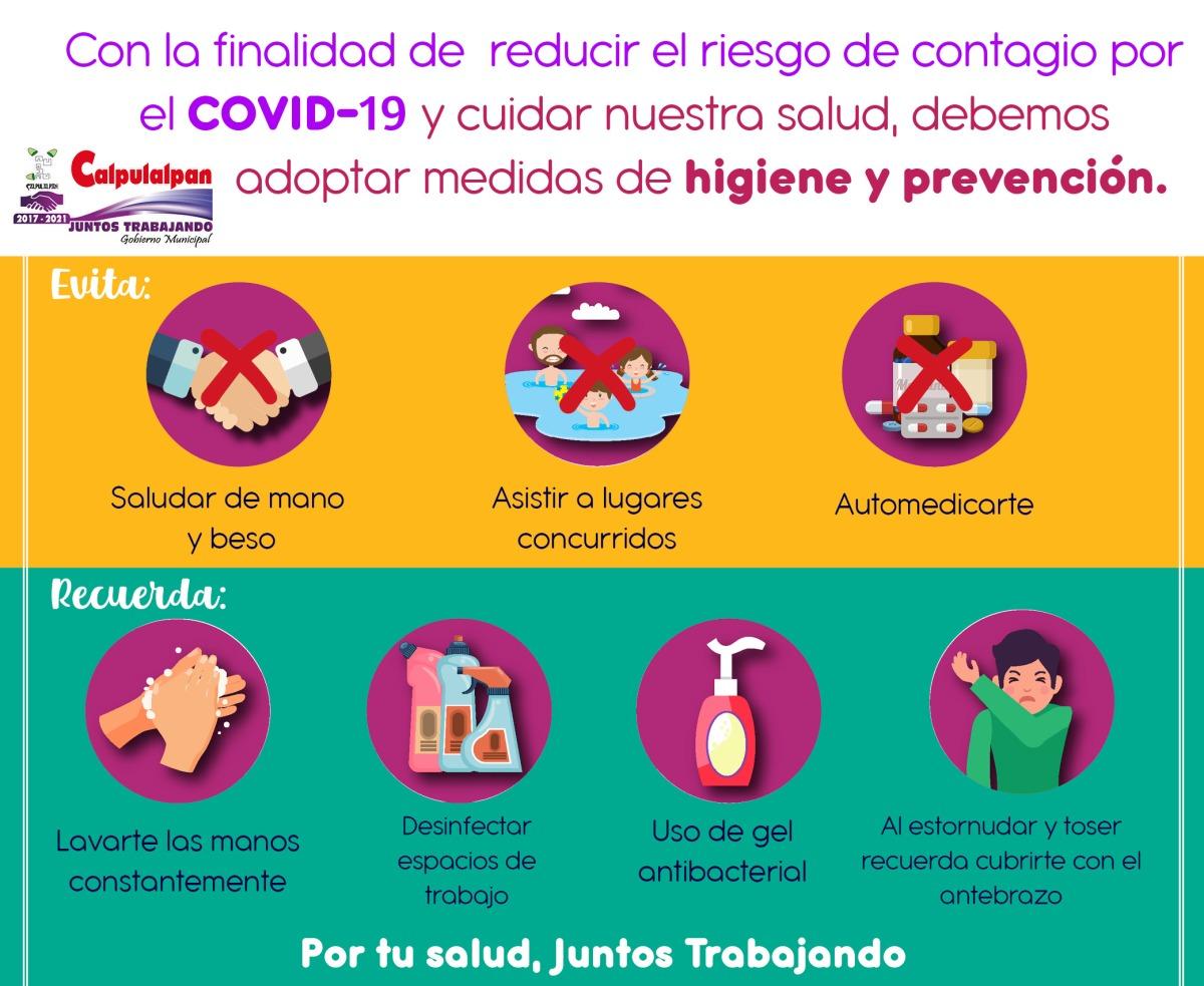 Municipio de Calpulalpan Anuncia Medidas por VirusCOVID-19