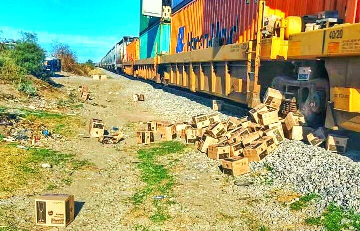 Tlaxcala primer lugar de robo al tren en2019