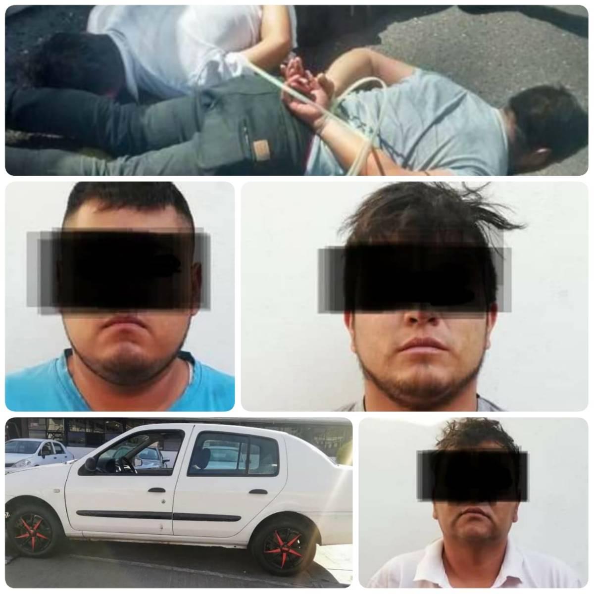 Atrapan en la México-Veracruz a probablesasaltantes