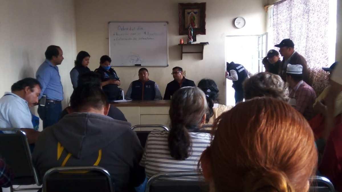 Conflicto en el Mercado Guadalupe de Apizaco porcierre