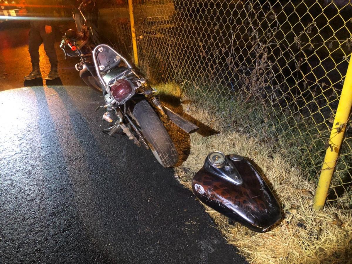 Atropellan y abandonan a motociclista en la Tlaxcala-SanMartín