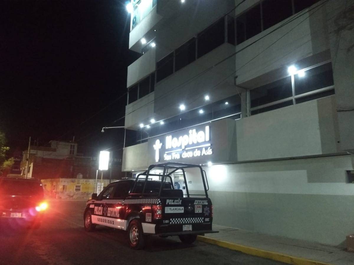 Asaltan hospital privado en Apizaco